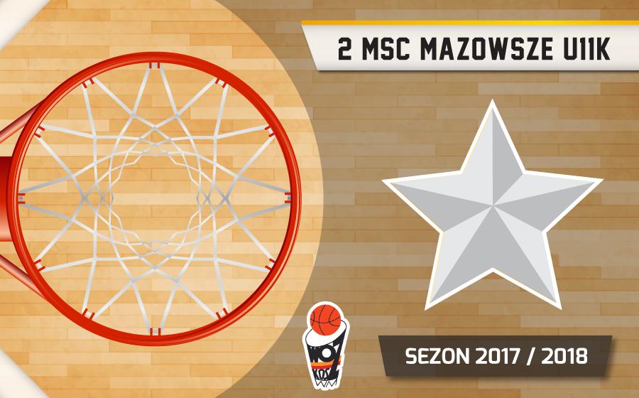 Wicemistrz Mazowsza U11K 17/18