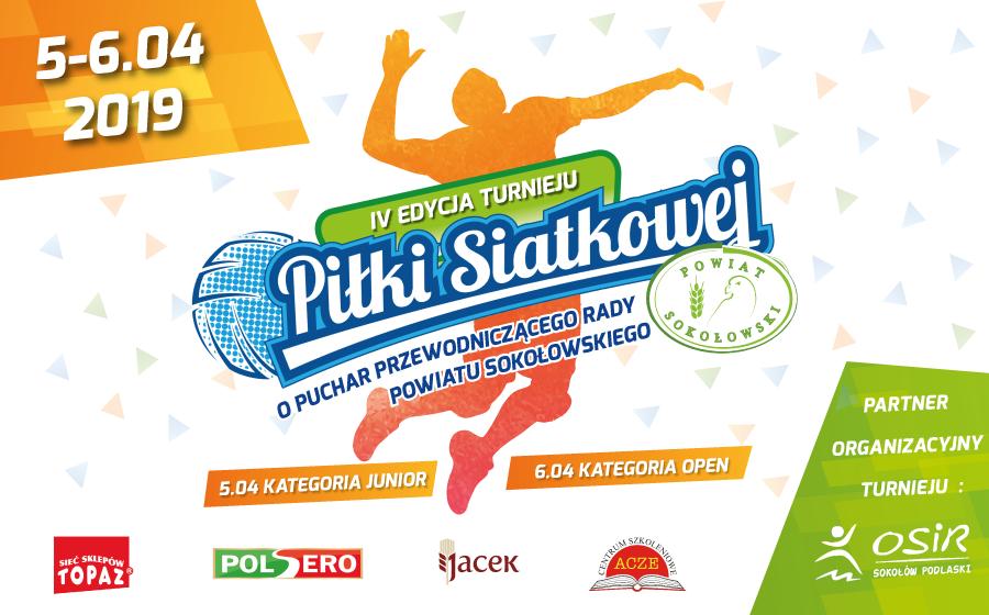 IV Turniej piłki siatkowej o Puchar Przewodniczącego Rady Powiatu Sokołowskiego
