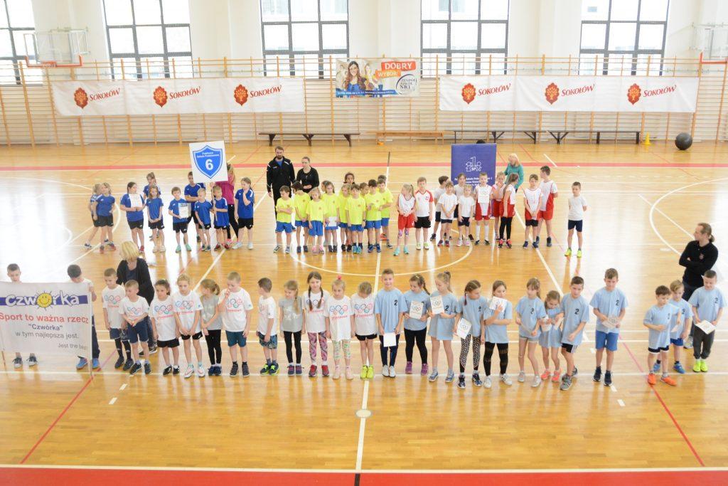 foto: I etap Sokołowskich Szkolnych Igrzysk Dzieci Klas I-III 2019 - SSID 27.02.19 1024x683