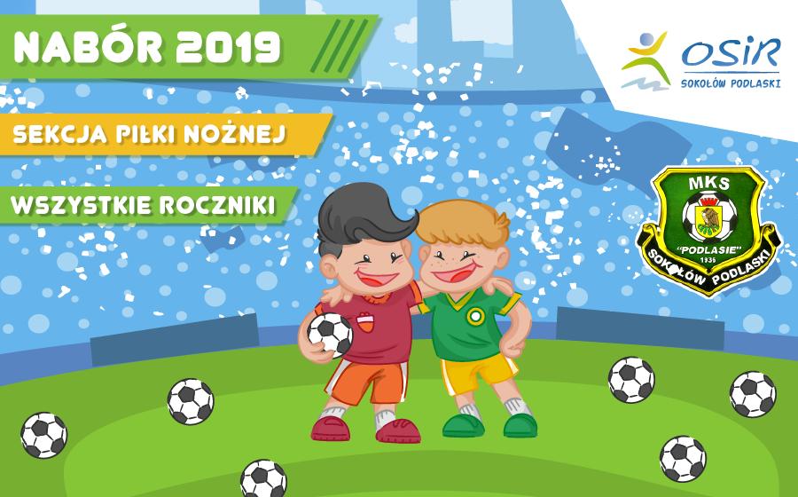 Nabór do sekcji piłki nożnej – jesień 2019