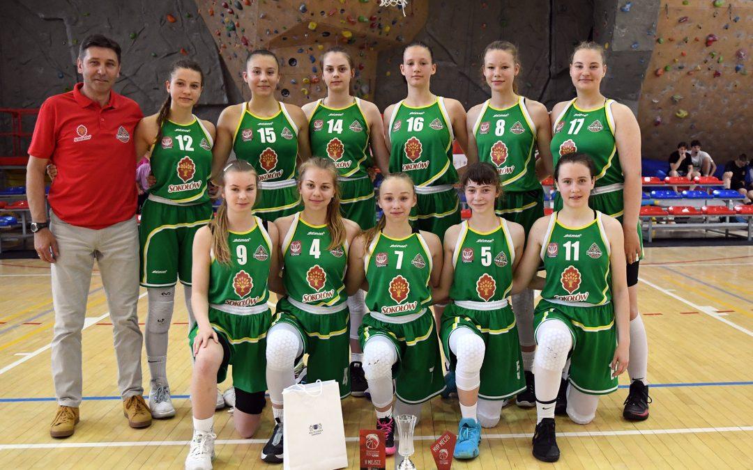 5 miejsce koszykarek U15 w Polsce 20/21