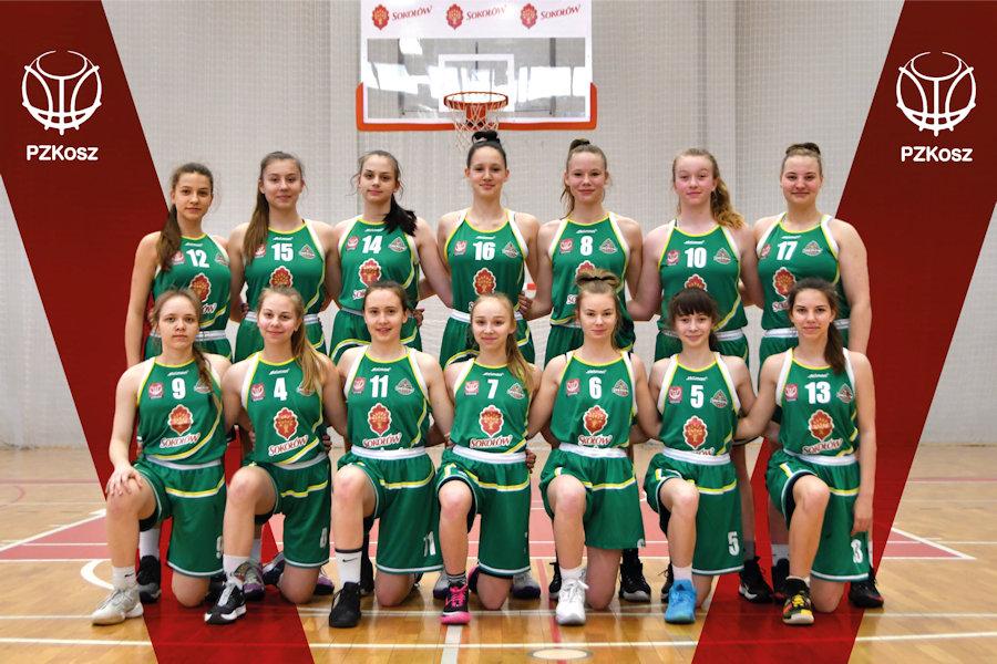 Awans koszykarek U15 do finału Mistrzostw Polski 20/21