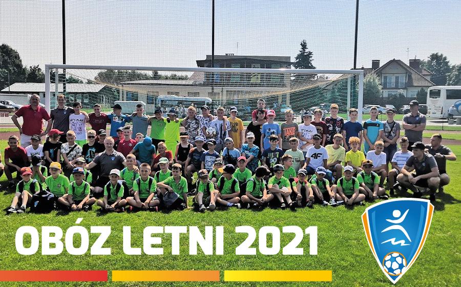 Obóz letni Akademii Futbolu 2021
